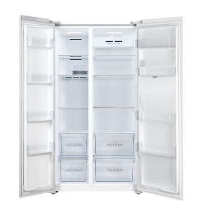 خرید یخچال و فریزر ساید بای ساید جی پلاس 621 لیتر GPLUS GSS-K725