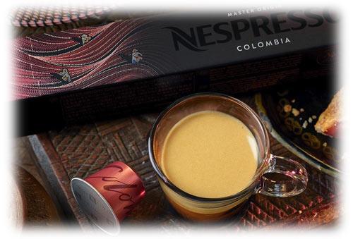 قیمت کپسول قهوه نسپرسو کلمبیا NESPRESSO CAPSULES COFFEE MASTER ORGIN COLOMBIA