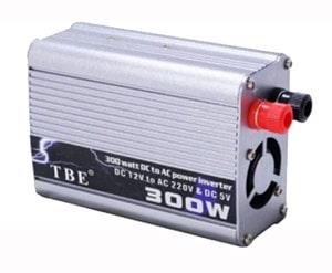 خرید مبدل برق شبه سینوسی خودرو 300 وات TBE 300W POWER INVERTER