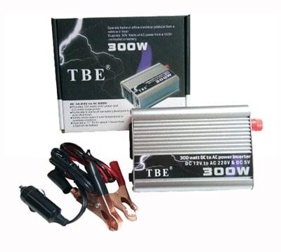 قیمت مبدل برق شبه سینوسی خودرو 300 وات TBE 300W POWER INVERTER