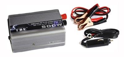 قیمت مبدل برق شبه سینوسی خودرو 500 وات TBE 500W POWER INVERTER