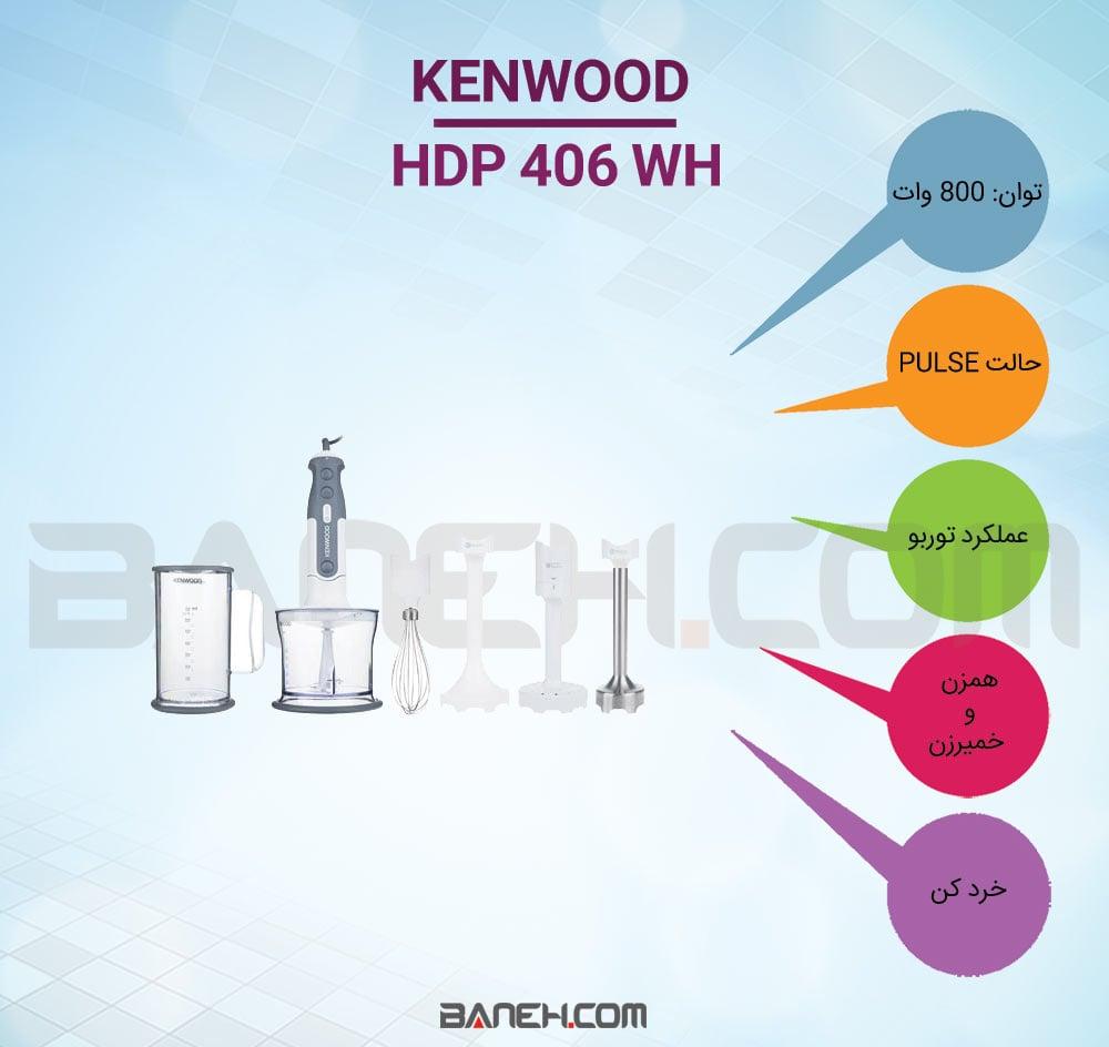اینفوگرافی گوشت کوب برقی HDP406WH