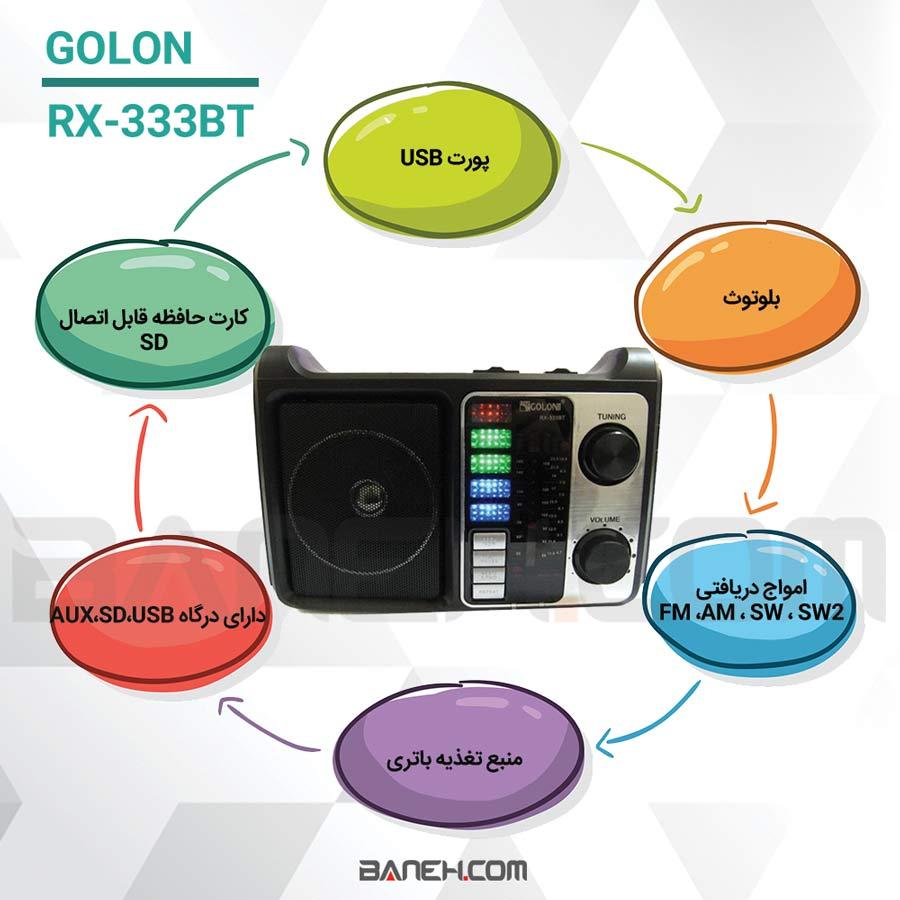 GOLON RX-333BT
