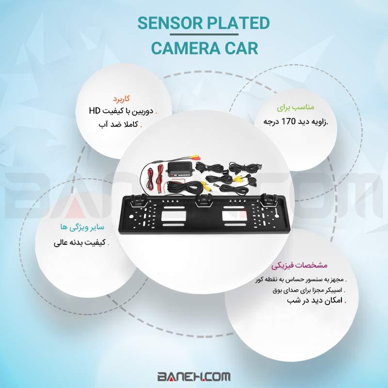 Sensor Plated Camera