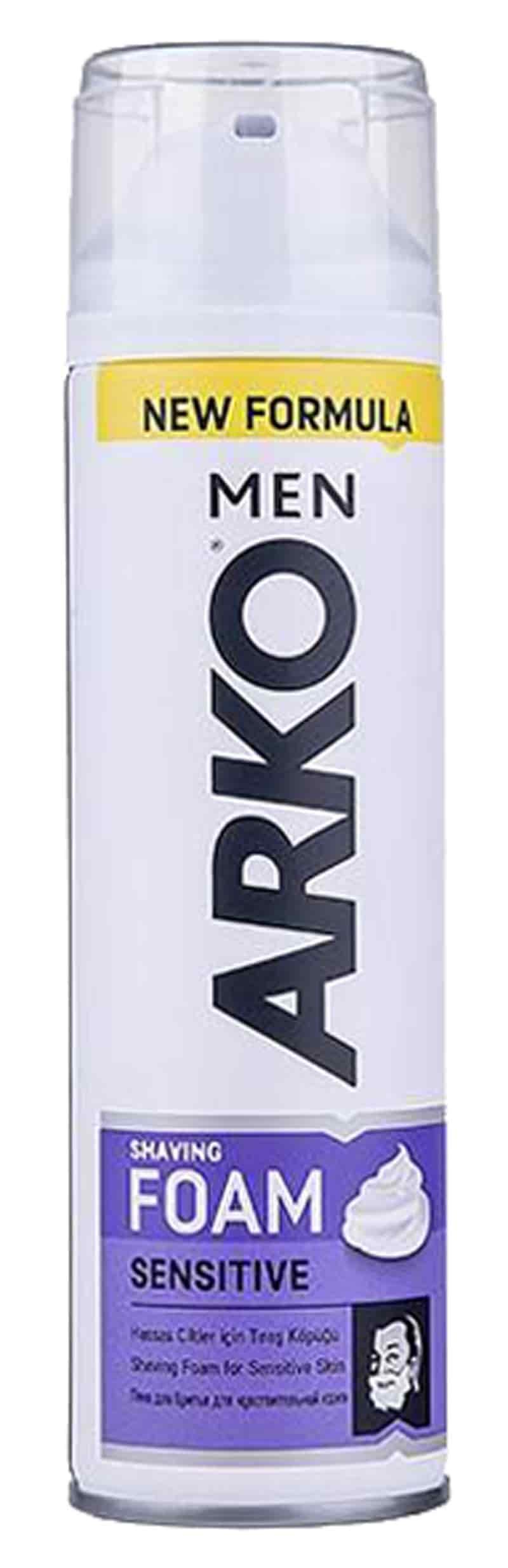 خرید کرم اصلاح آرکو 200 میلی لیتر ARKO FOAM SENSETIVE