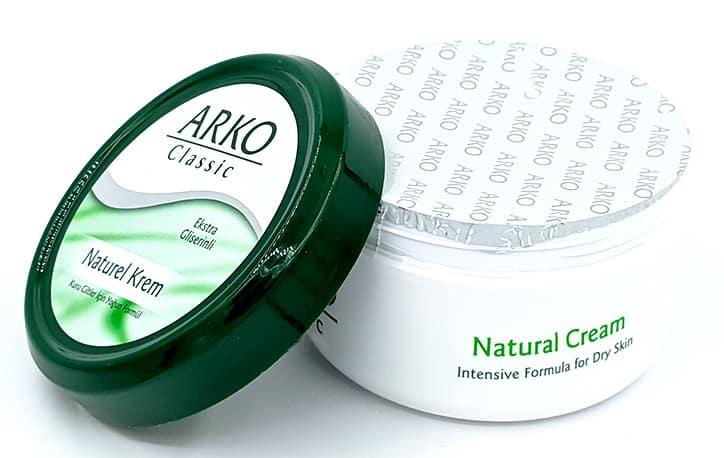 قیمت کرم مرطوب کننده آرکو 150 میلی لیتر  ARKO Classic Natural