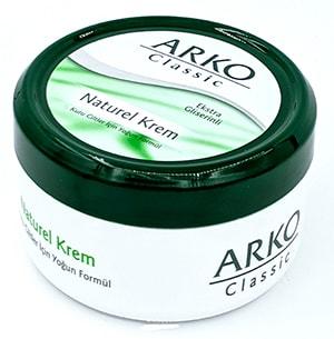 کرم مرطوب کننده آرکو 150 میلی لیتر  ARKO Classic Natural