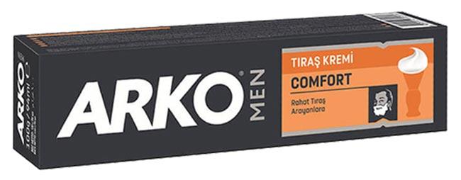 خرید کرم اصلاح مردانه آرکو مدل کامفورت 100 گرم ARKO MEN COMFORT 100GR