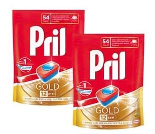 قرص ماشین ظرفشویی پریل 70 عددی Pril Gold