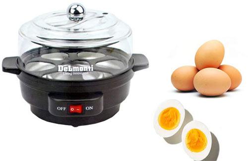 پخت تخم مرغ با تخم مرغ پز dl675 دلمونتی