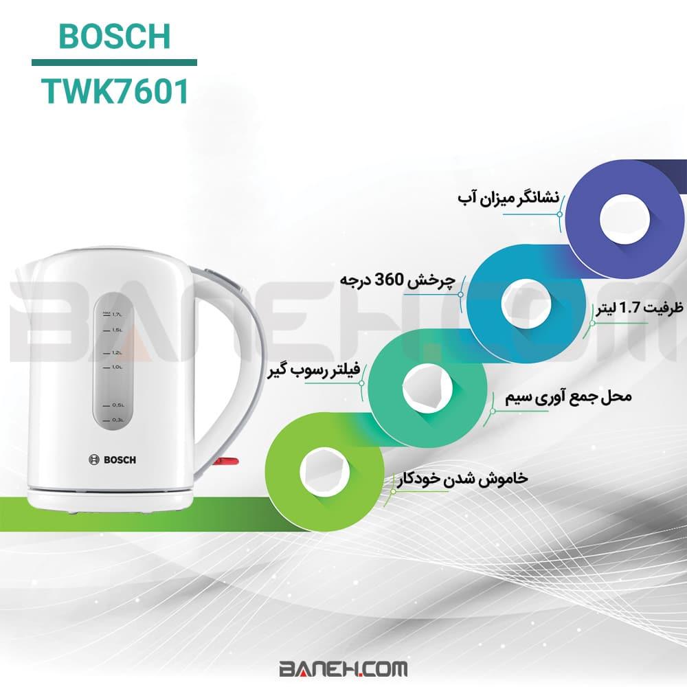 اینفوگرافی کتری برقی بوش TWK7601