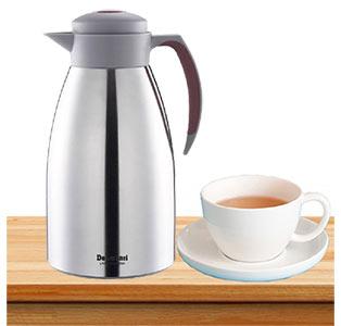 نوشیدن یک لیوان چای گرم با فلاسک دلمونتی dl1650