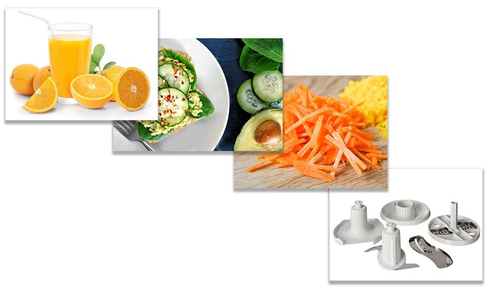 کاربرد غذاساز fp120