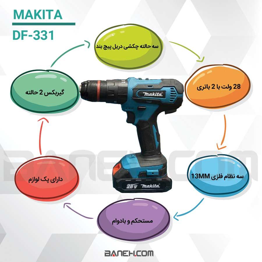 Makita DF331