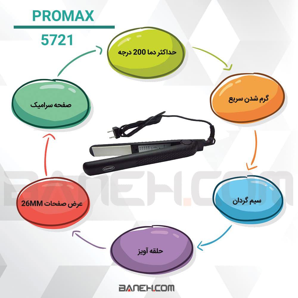 اینفوگرافی اتو مو پرومکس 5721