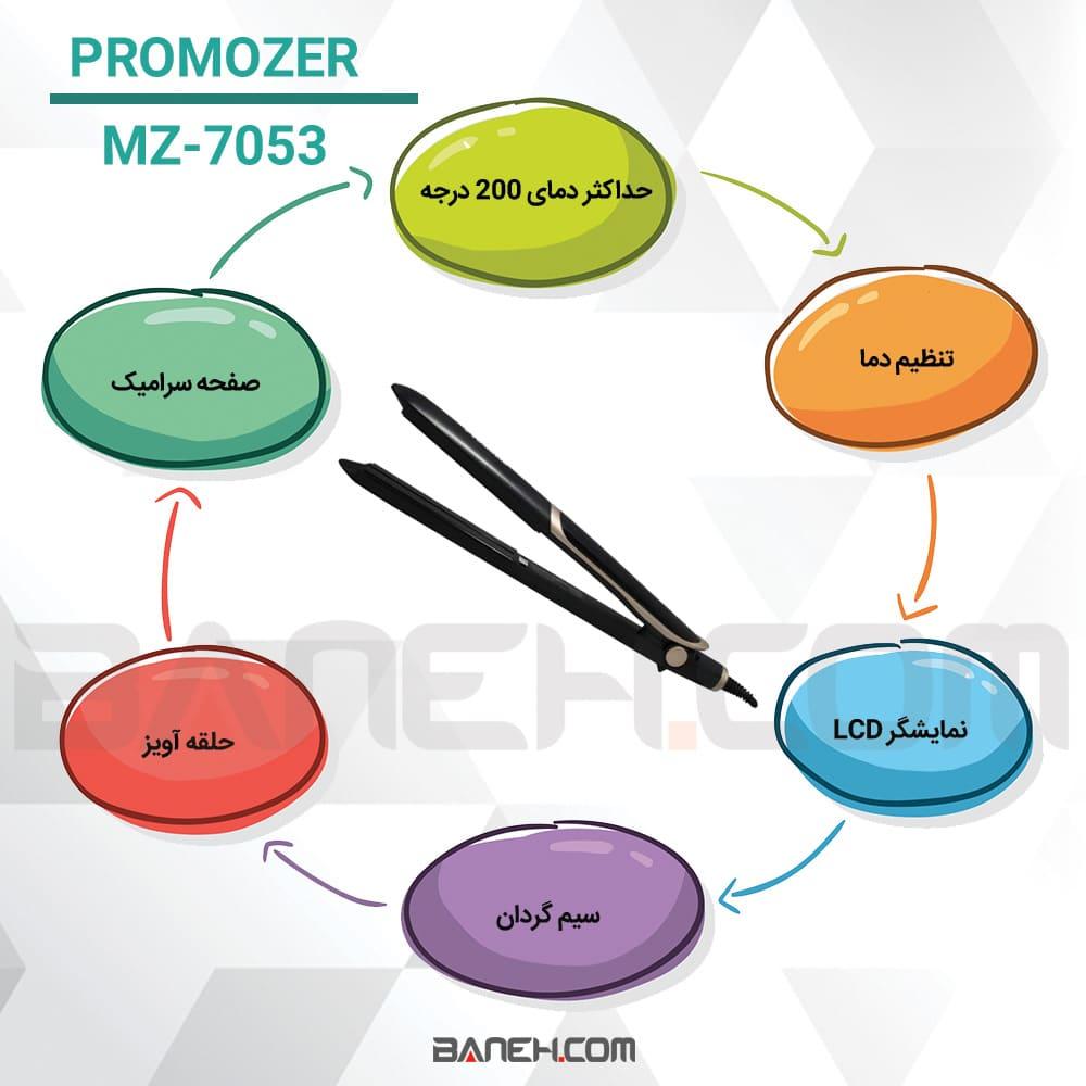 اینفوگرافی اتو مو پروموزر MZ-7053