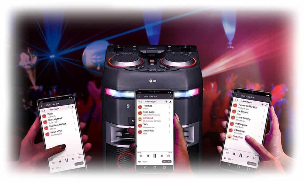 سیستم صوتی چند رسانه ای ال جی CJ65