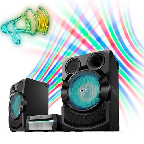 قدرت صوتی در پخش کننده چند رسانه ای سونی x70
