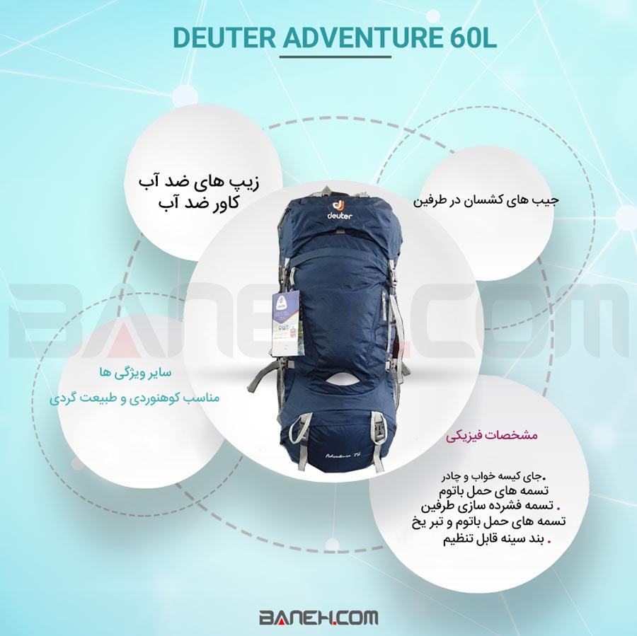 Deuter Adventure60