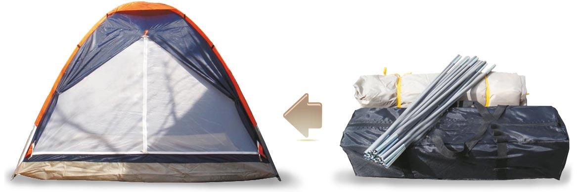 خرید چادر مسافرتی برزنتی