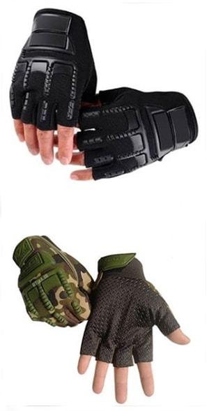 قیمت دستکش کوهنوردی نیم انگشت نظامی تاکتیکال Tactical Anderma