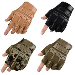 دستکش کوهنوردی نیم انگشت نظامی تاکتیکال Tactical Anderma