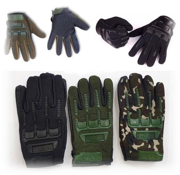 دستکش کوهنوردی تمام انگشت نظامی تاکتیکال Tactical MPACT
