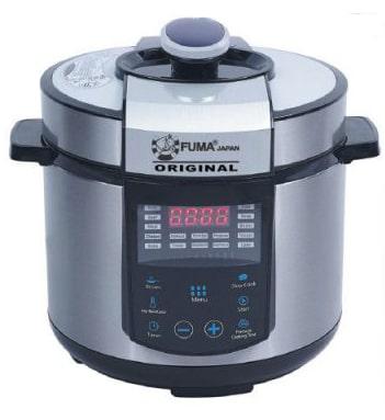 خرید زودپز برقی فوما FU-1349 FUMA Twin Pressure Cooker