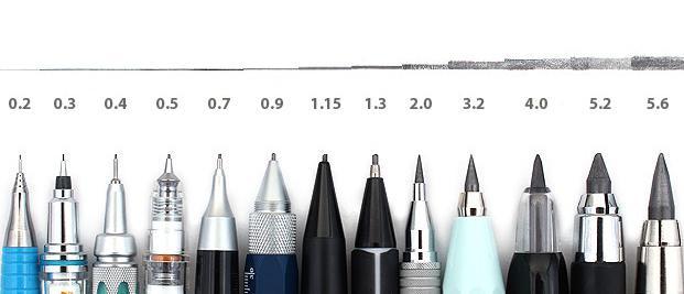 انواع نوک مداد نوکی