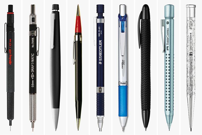 کار با مداد نوکی