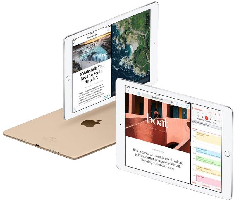 نرم افزار و سیستم عامل تبلت اپل آیپد پرو سلولار