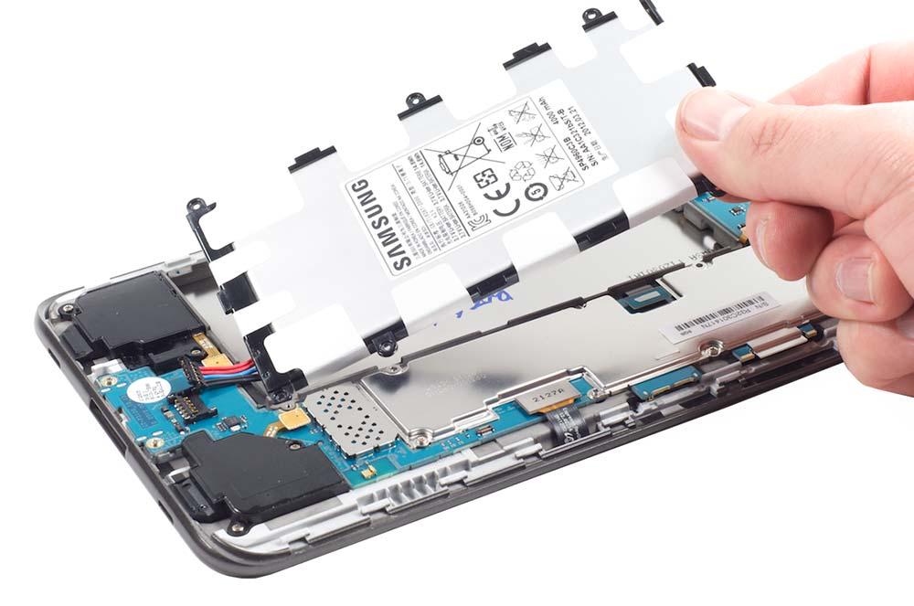 باتری غیر قابل جابجایی در تبلت تب اس 2 تی 819 سامسونگ