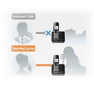 امکانات و قابلیت ها تلفن بی سیم d320
