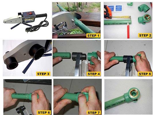 کار با دستگاه جوش لوله سبز R63002