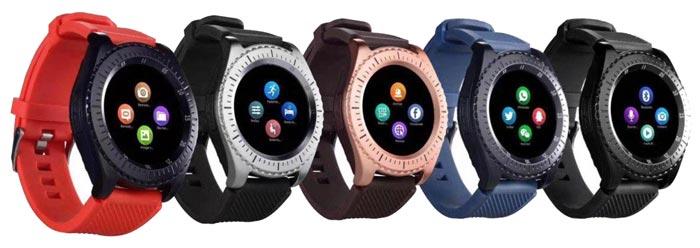 قیمت ساعت هوشمند همراه بند سیلیکونی یدکی SMART WATCH WITH SPARE STARP Z4
