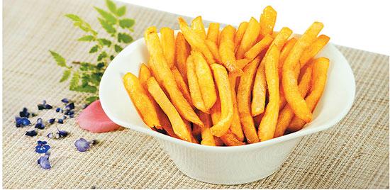 مواد غذایی خوشمزه و لذیذ با سرخ کن fu-1354