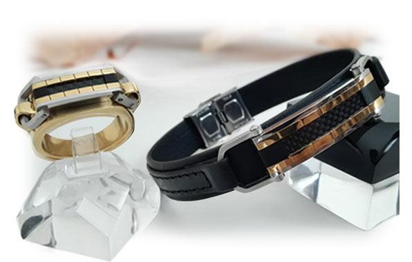 دستبند و انگشتر ست مردانه اسپرت