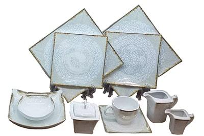 طراحی ظروف چینی مربعی