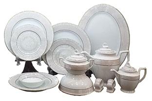 طراحی ظروف چینی 160 پارچه