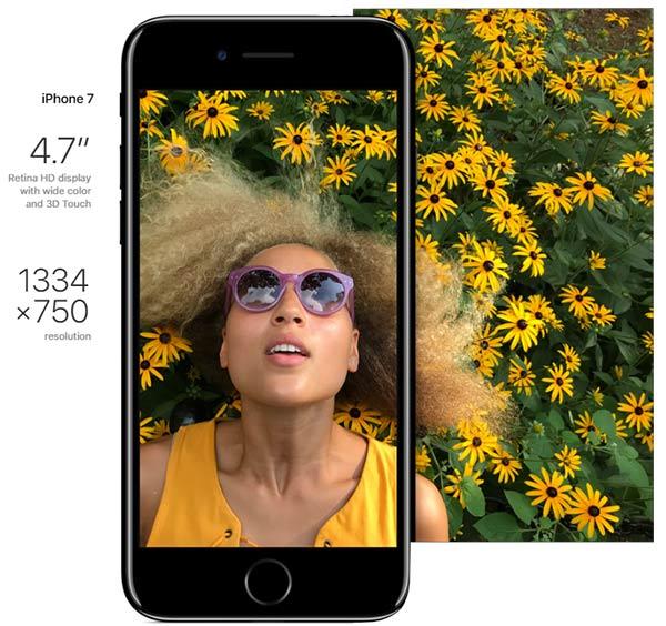 iphone 7 بهبود صفحه نمایش در خفاء