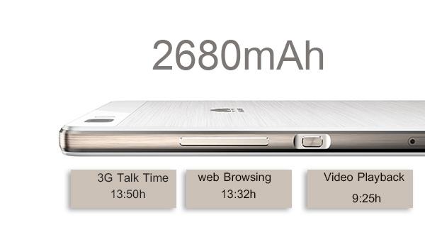 باتری لیتیوم پلیمر غیر قابل جابجایی 2680 میلی امپر ساعتی گوشی هواوی p8