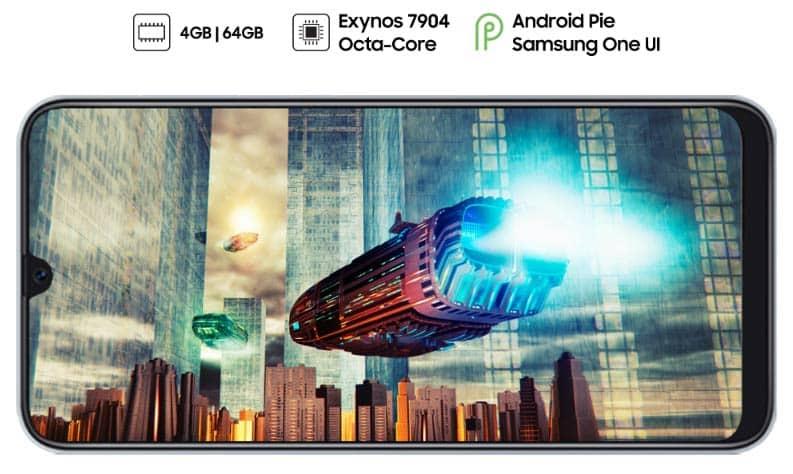 سخت افزار گوشی موبایل A30 سامسونگ