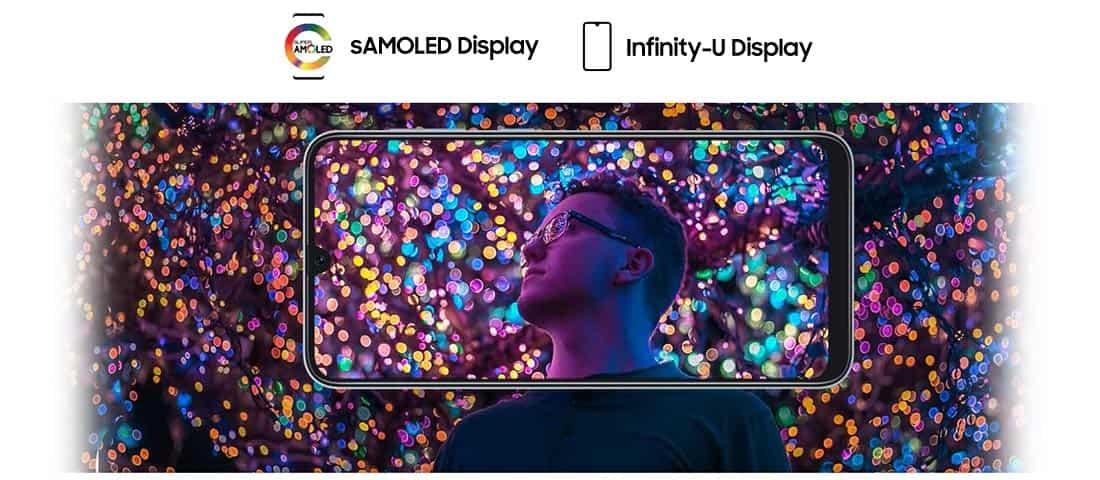 صفحه نمایش Galaxy A30