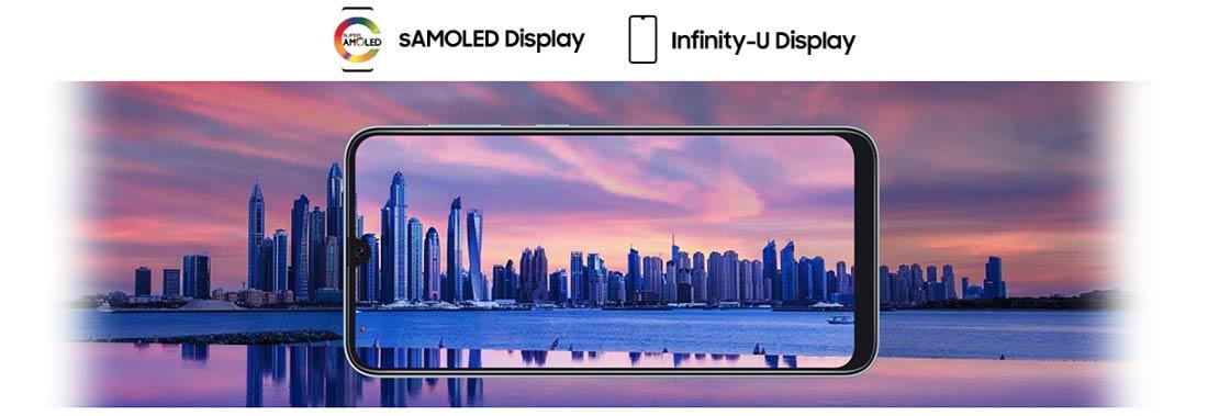 صفحه نمایش Galaxy A50