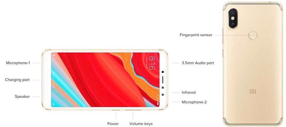 خرید گوشی موبایل Redmi S2