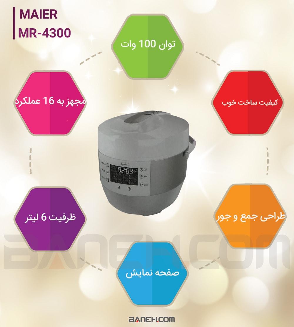 اینفوگرافی پلوپز مایر MR-4300