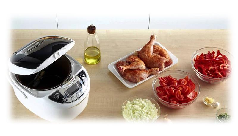 پلوپز تفال 10 نفره مدل TEFAL RK7058 Electric Rice Cooker