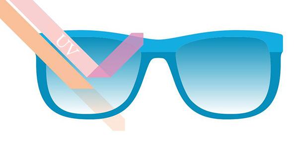 UV400 در عینک آفتابی