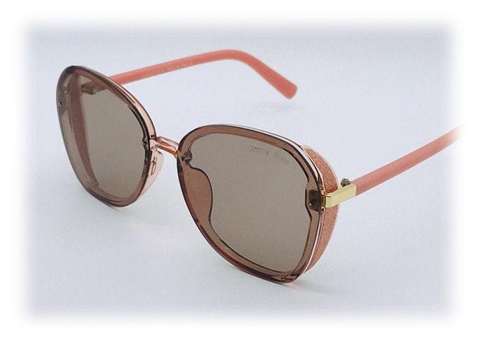 عینک آفتابی فشن مارک دار UV400 Sunglass