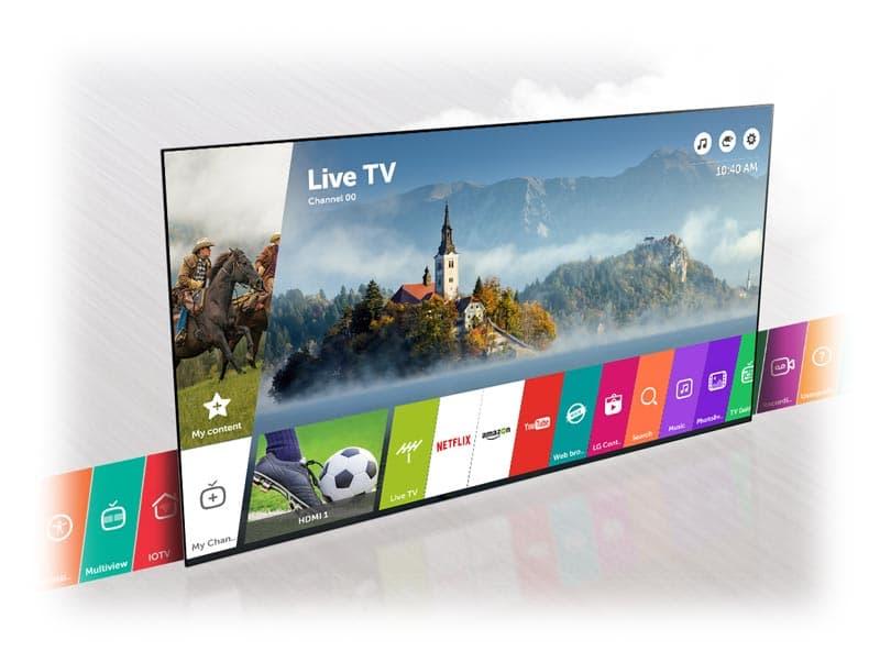 خرید تلویزیون هوشمند ال جی 43LJ55000
